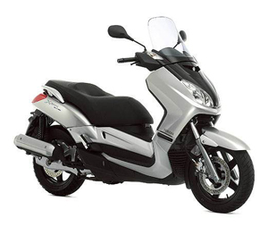 rent scooter yamaha x-max 125 marrakech